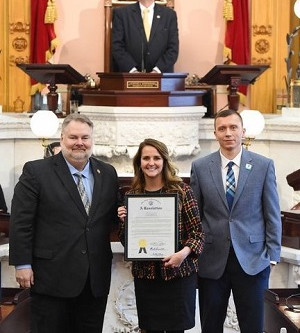 Romanchuck honors Mansfield Area Y during Ohio House Session