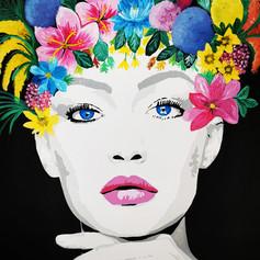 Flower Girl (SOLD)