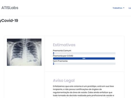 Pesquisadores da Rural usam inteligência artificial para identificar pneumonia por COVID-19