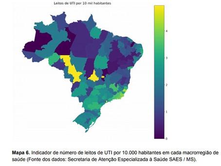 Relatório atualiza a previsão de disseminação da Covid-19 no Brasil