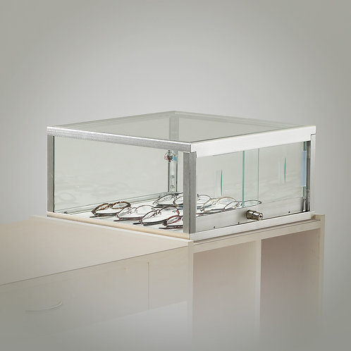 Glass Taboret-Top Showcase