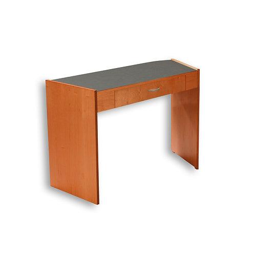 Single Angled Desk - Contemporary