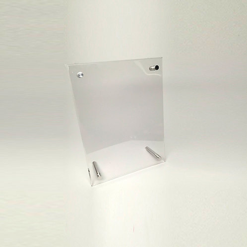 Small Countertop Acrylic Sign Holder