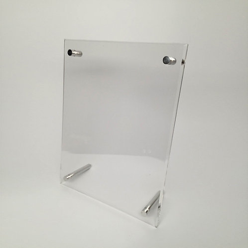 Large Countertop Acrylic Sign Holder