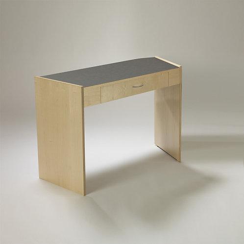 Single Angled Desk