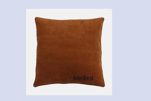 poussin  en cuir marron