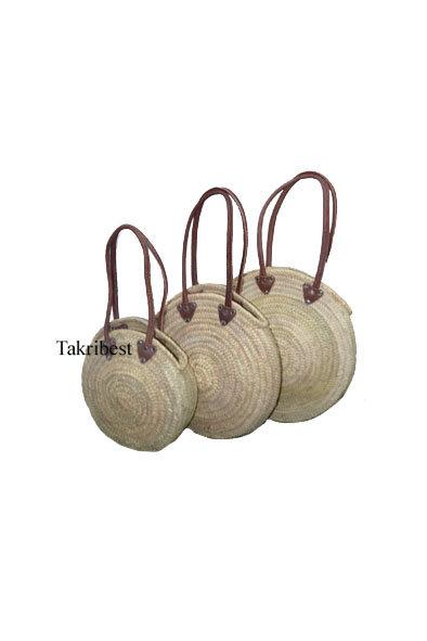 sac rond des mains longue cuir *3
