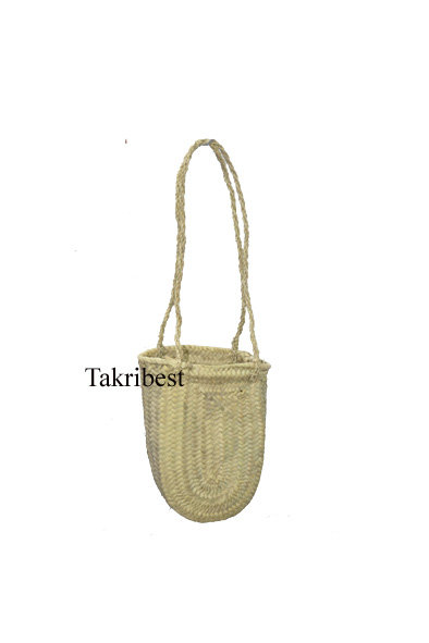 sac doum oval avec anses long naturel