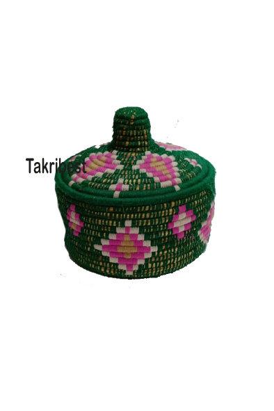 panier Berber colorée