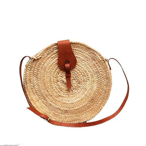 sac rond avec anses long cuir réglable