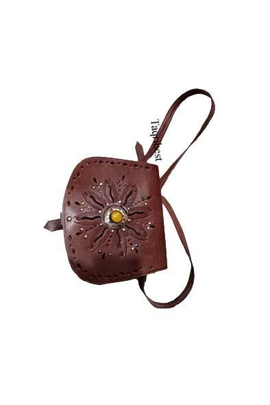 sac femme  cuir marron avec anses longue