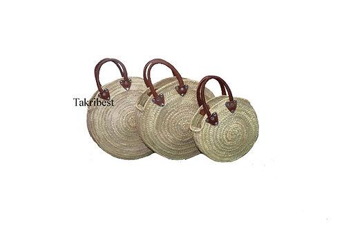sac rond avec court main cuir*3
