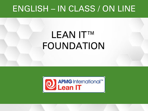 Lean IT™ Foundation Certification