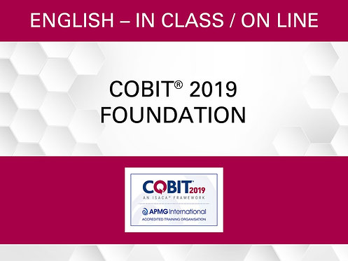COBIT® 2019 Foundation Certification