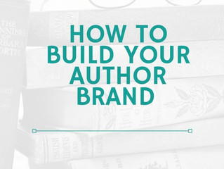 How to Build Your Author Brand