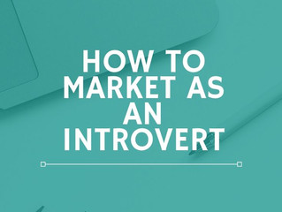 How to Market as an Introvert: 10 Hangups Introverts Have About Marketing and How to Get Over Them