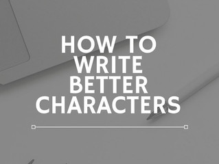 How To Write Better Characters