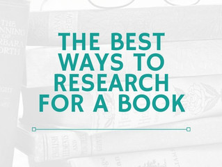 The Best Ways to Research for a Book