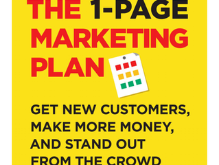 "Review of ""The 1-Page Marketing Plan"" by Allan Dib"