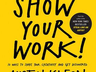 "Review of ""Show Your Work"" by Austin Kleon"