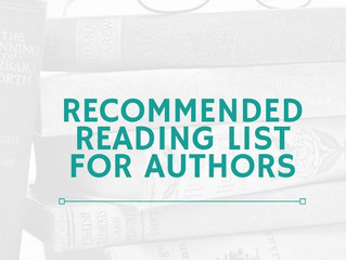 Recommended Reading List For Authors