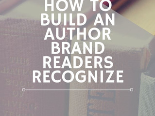 Effective Book Marketing Step 1: How to Build an Author Brand Readers Recognize