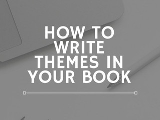 How to Write Themes in your Book