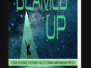 "Review of ""Beamed Up, Four Science Fiction Tales from Amphibian Press"""