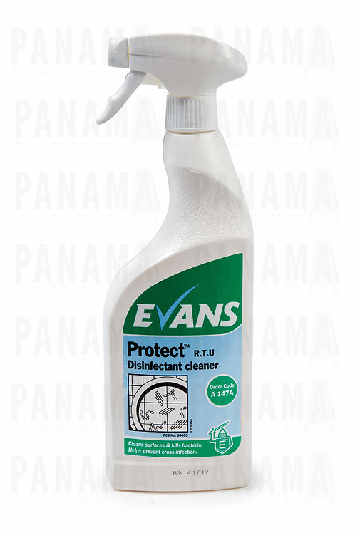 Evans Protect® R.T.U Disinfectant Cleaner 750ml