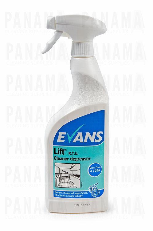 Evans Lift® R.T.U Heavy Duty Cleaner Degreaser 750ml