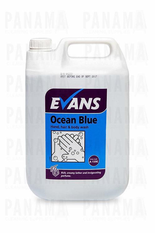 Evans Ocean® Blue Hand, Hair & Body Wash 5 Litre