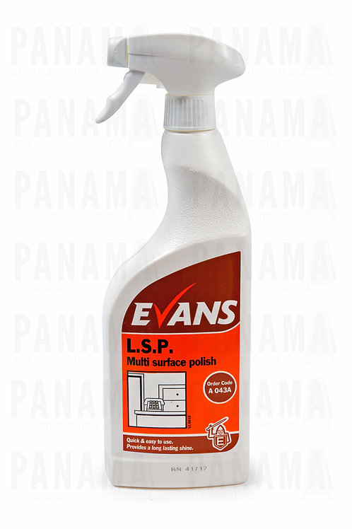 Evans L.S.P® R.T.U Furniture Polish & Cleaner 750ml