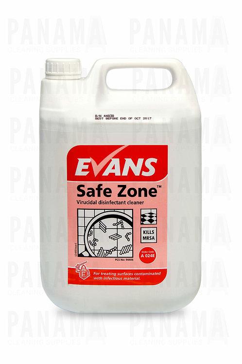 Evans Safe Zone® Virucidal Disinfectant Cleaner 5 Litre