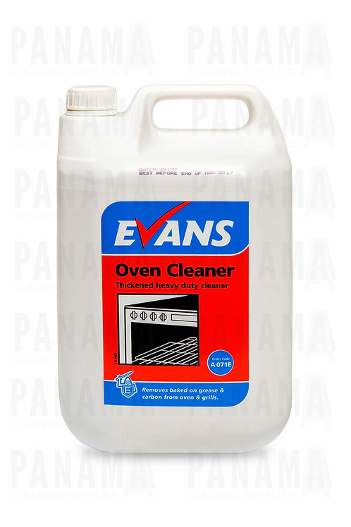 Evans Oven Cleaner® Thickened HeavyDuty Cleaner 5 Litre