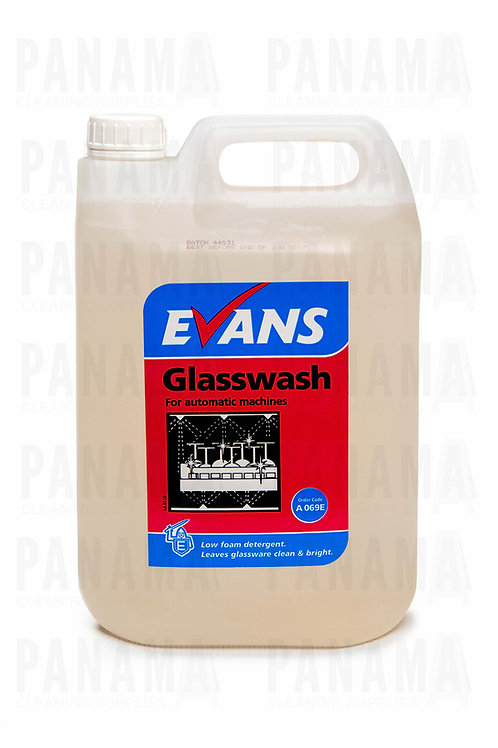 Evans Glasswash® For Automatic Machines 5 Litres