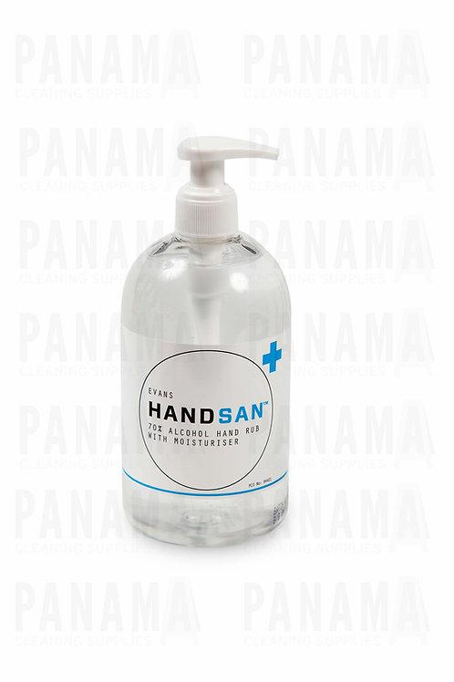 Evans Vanodine Handsan™ 500ml Alcohol Hand Sanitiser