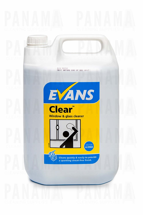Evans Clear® Window & Glass Cleaner 5 Litre