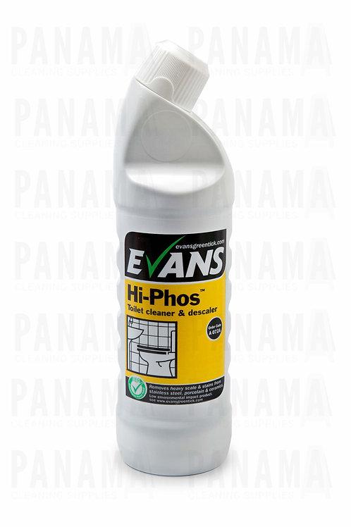 Evans Hi-Phos® Toilet Cleaner & Descaler 1ltr