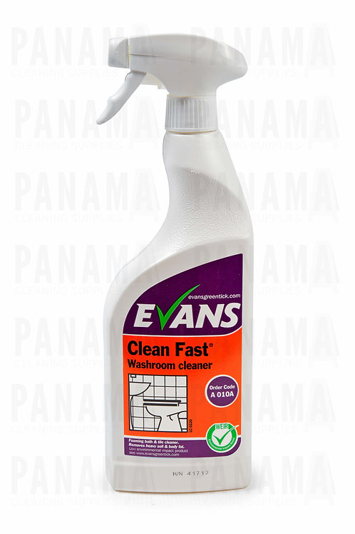 Evans Clean Fast® R.T.U Washroom Cleaner 750ml