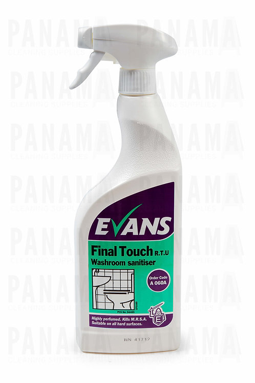 Evans Final Touch® R.T.U Washroom Sanitiser 750ml