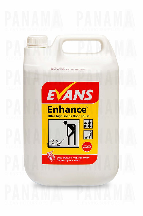 Evans Enhance® Ultra High Solids Floor Polish 5 Litre