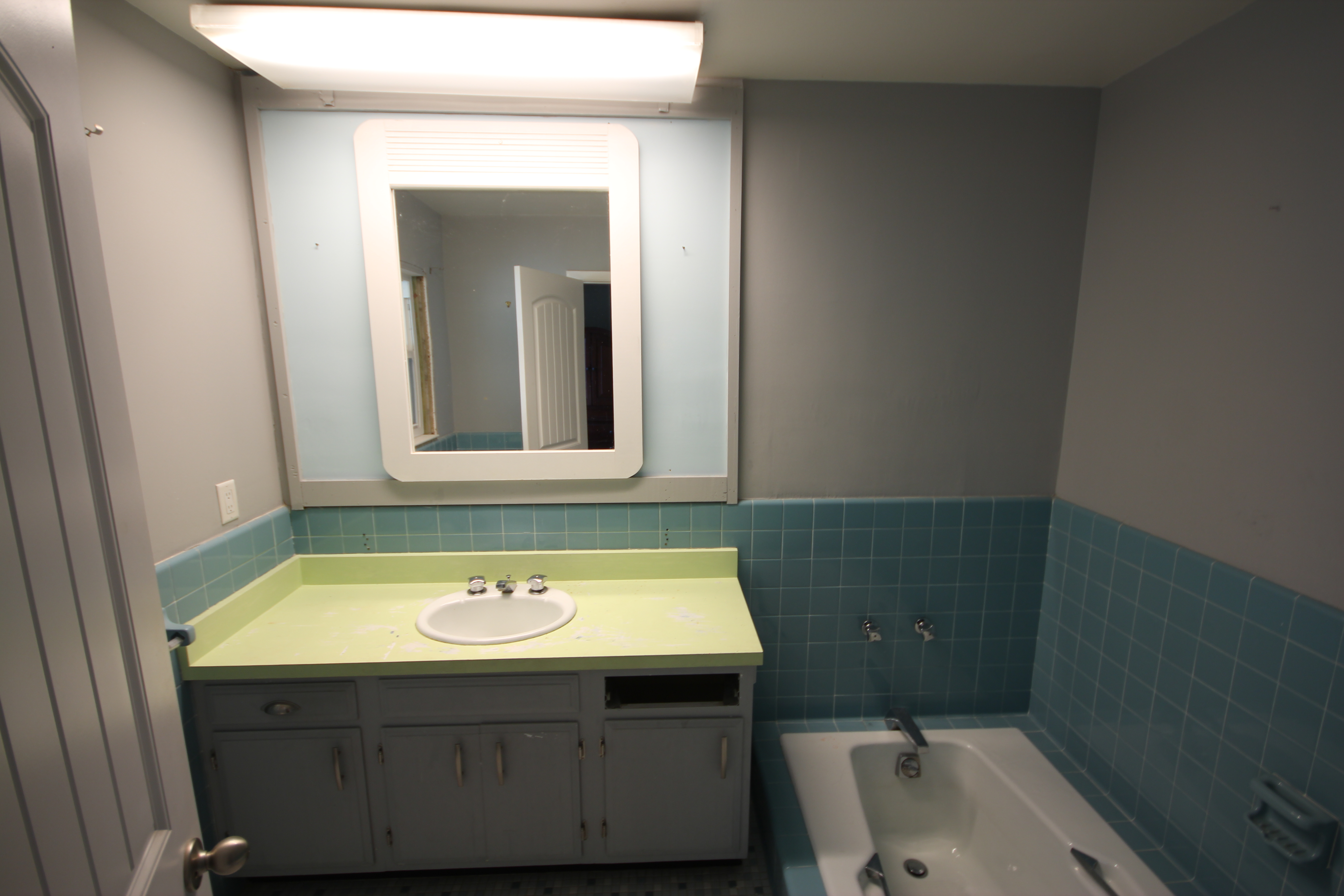 Bathroom Remodel - Before