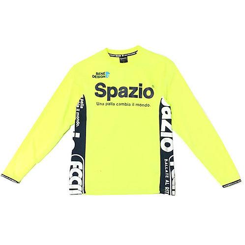 スパッツィオ Spazio accanto long practice shirt ロングプラシャツ サッカー 長袖 シャツ ネオンイエロー GE0411 27