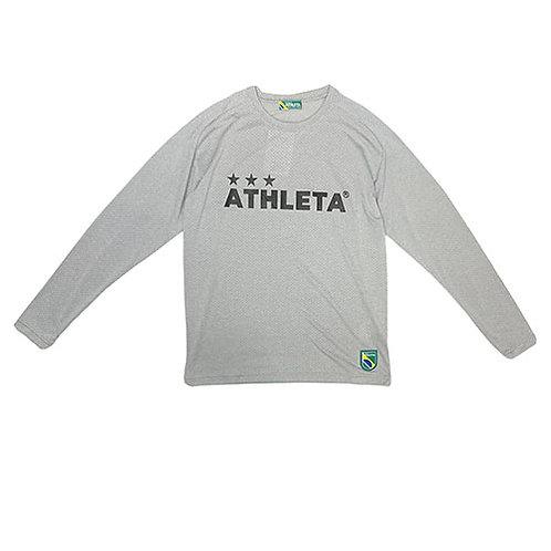 アスレタ ATHLETA プラクティスロンT グレー サッカー フットサル 長袖 プラクティスシャツ 練習着 03327 60