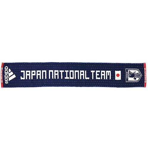 アディアダス adidas サッカー日本代表シャツタオル ナイトブルー サッカー 応援グッズ タオル ハンドタオル ETW82 CX2178