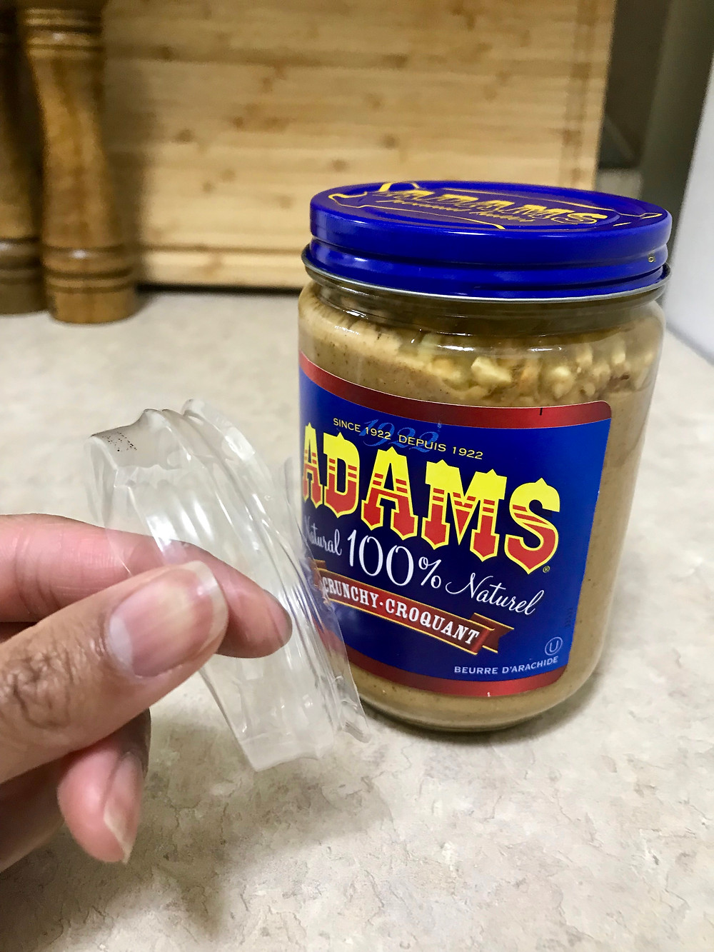 Why do glass jars still need plastic wrap?