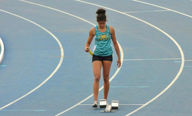 My last race as a high school athlete at Provincials in 2012