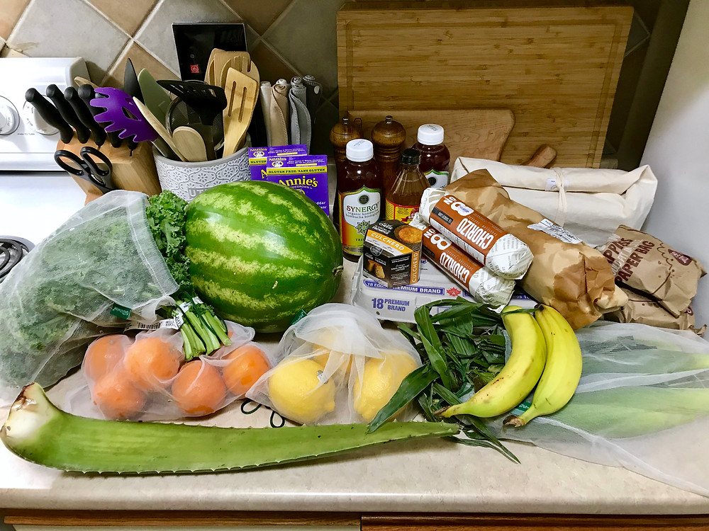 low waste grocery shopping