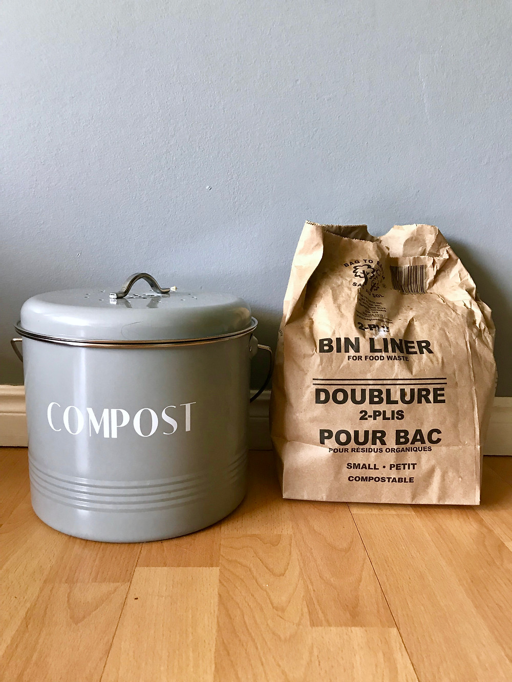 composting is possible from a small apartment