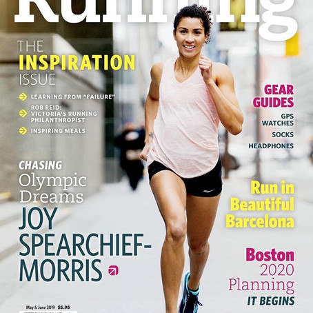 Canadian Running Magazine Cover!
